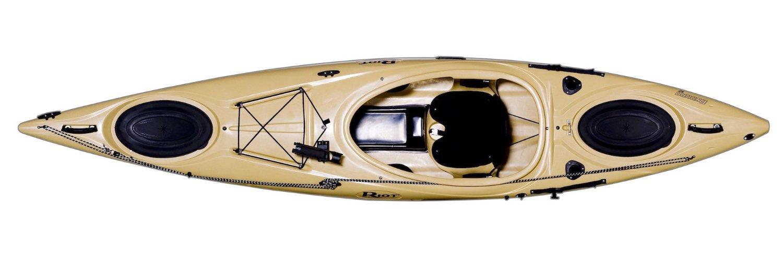 Riot kayaks enduro 12 angler flatwater fishing kayak sand for 12ft fishing kayak